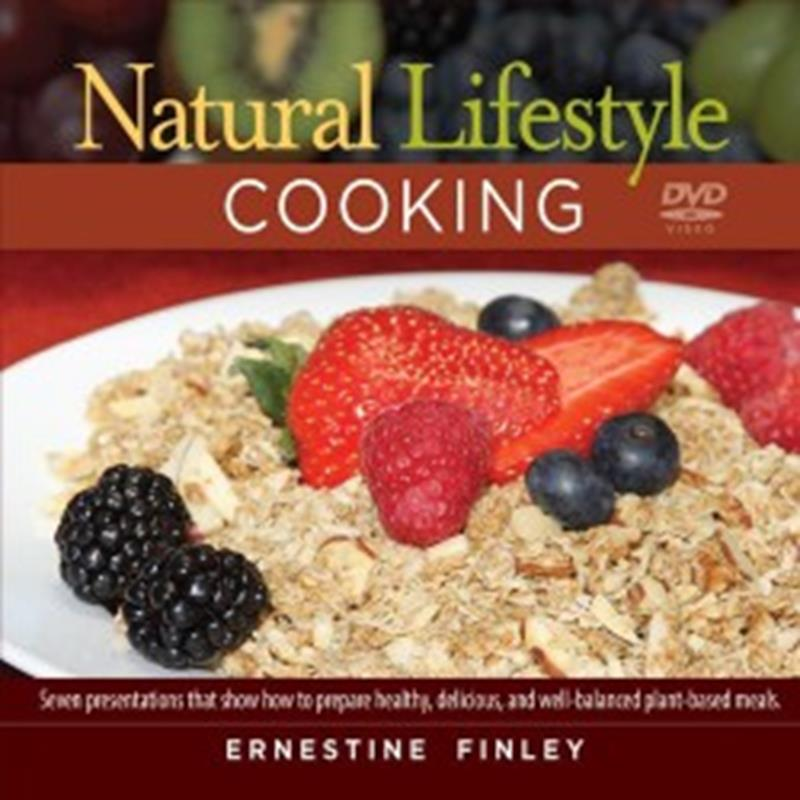 DVD NATURAL LIFESTYLE COOKING,NEW BOOK,4333004519