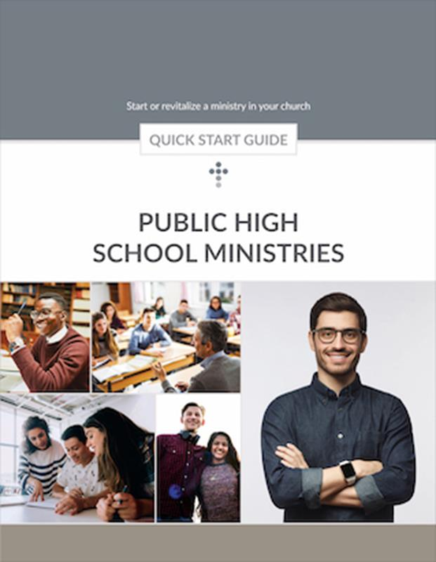 QUICK START GUIDE PUBLIC HIGH SCHOOL MINISTRY,BIBLE STUDY,623873
