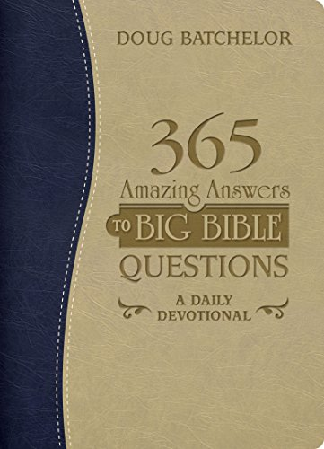365 AMAZING ANSWERS TO BIG BIBLE QUESTIONS DEVOTIONAL,DEVOTIONALS,BK-AADD
