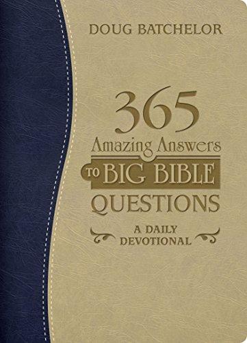 365 AMAZING ANSWERS TO BIG BIBLE QUESTIONS DEVOTIONAL,DEVOTIONALS,BK-AADD