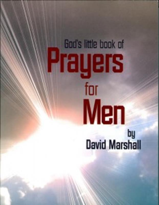 GODS LITTLE BOOK OF PRAYER FOR MEN TP,CHRISTIAN LIVING,9781907244834