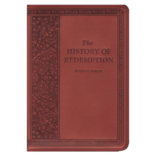 HISTORY OF REDEMPTION BROWN LEATHER,ELLEN WHITE,BK-HOR