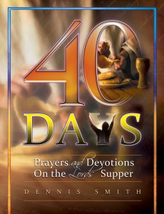 40 DAYS PRAYERS & DEVOTIONS LORDS SUPPER TP BK6,CHRISTIAN LIVING,9780816361489