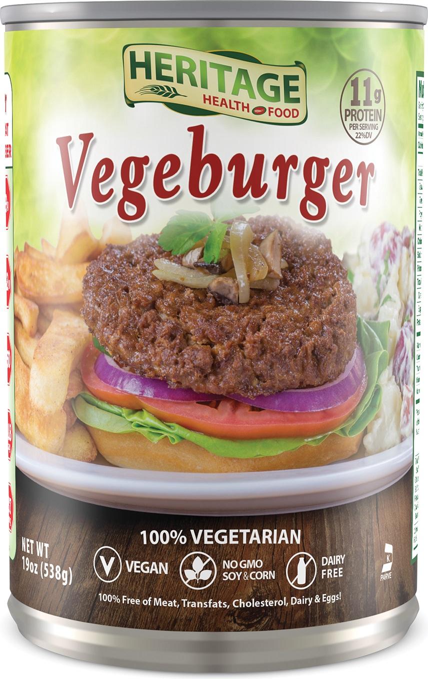 VEGE BURGER HERITAGE,HERITAGE HEALTH FOOD,853205002740