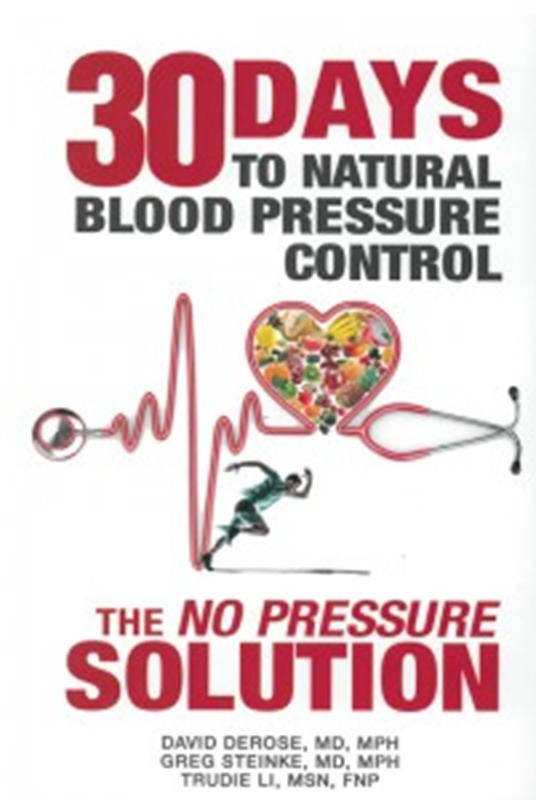30 DAYS TO NATURAL BLOOD PRESSURE CONTROL,COOKBOOKS/HEALTHBOOKS,9781942730026