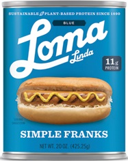 LOMA BLUE SIMPLE FRANKS,LOMA BLUE,4556100110