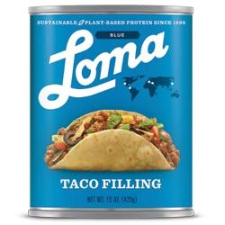 LOMA BLUE TACO FILLING CASE,LOMA BLUE,77672