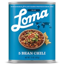 LOMA BLUE 5 BEAN CHILI CASE,LOMA BLUE,77665