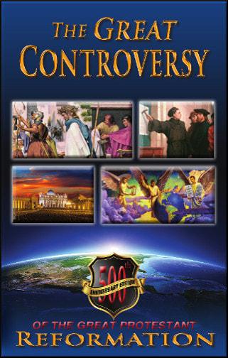 GREAT CONTROVERSY, 500TH ANNIVERSARY PROTESTANT REFORMA,ELLEN WHITE,GC500HT
