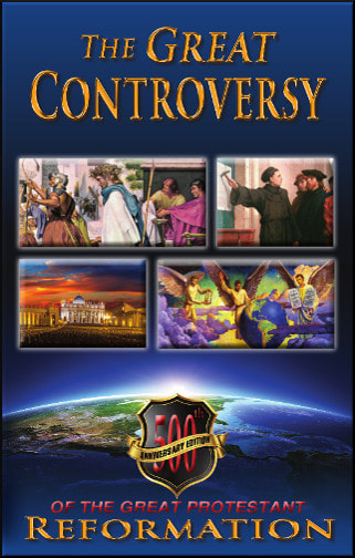 GREAT CONTROVERSY, 500TH OOP ANNIVERSARY PROTESTANT REFORMA,ELLEN WHITE,GC500HT
