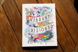 VIBRANT VISIONS ADULT COLORING BOOK OF DANIEL & REVELATION,CHRISTIAN LIVING,9780984369010
