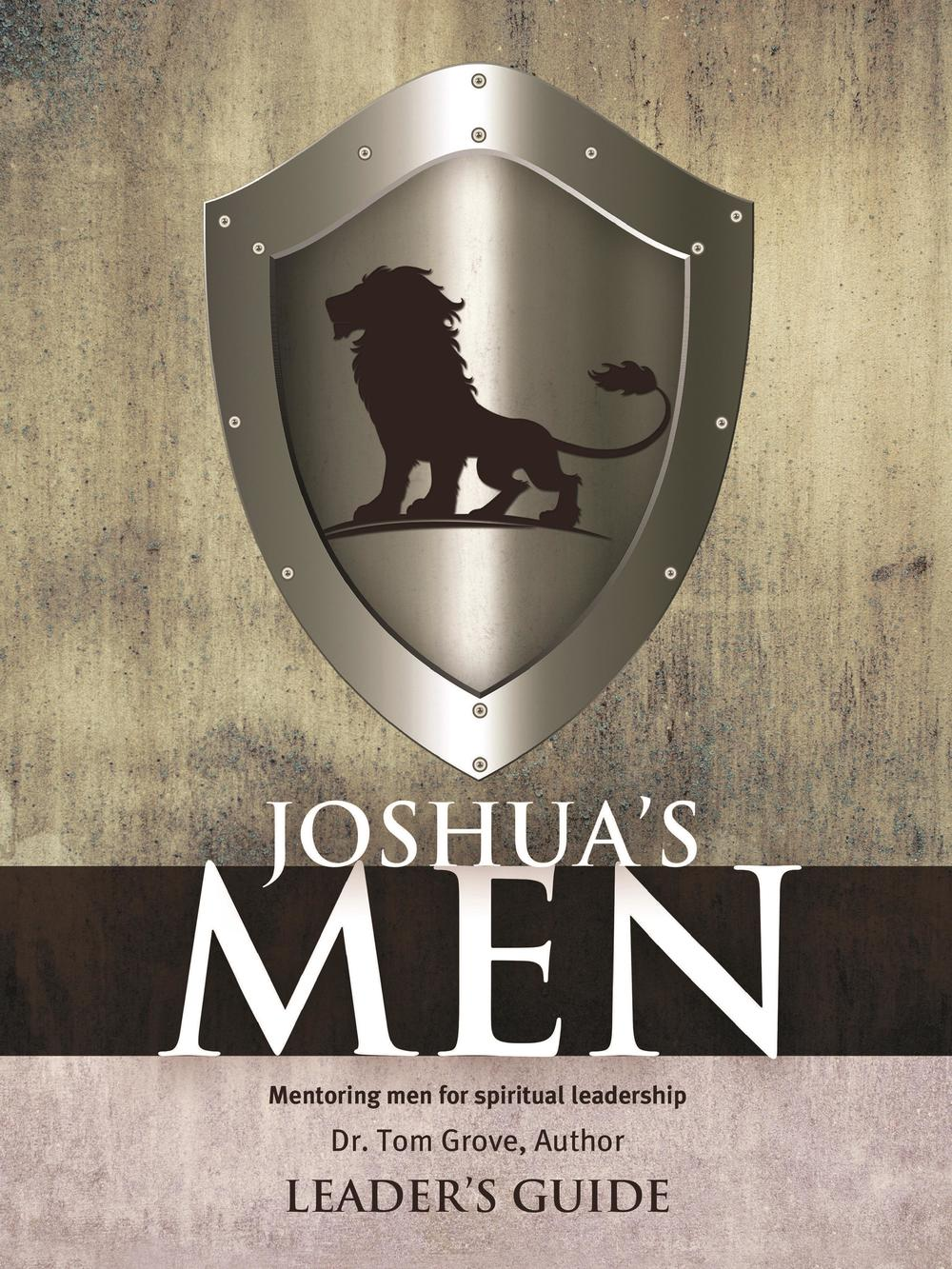 JOSHUA'S MEN:  MENTORING MEN FOR SPIRITUAL LEADER'S GUIDE,BIBLE STUDY,351846