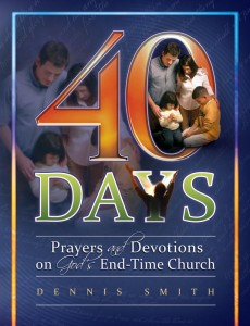 40 DAYS PRAYERS & DEVOTIONS GODS END TIME CHURCH BK 8,CHRISTIAN LIVING,9780816363285