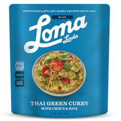 THAI GREEN CURRY,LOMA BLUE Pouches,77682