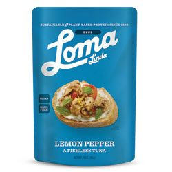LEMON PEPPER TUNA,LOMA BLUE Pouches,77685