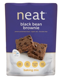 NEAT BLACKBEAN BROWNIE MIX,NEAT,78200