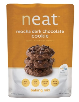 NEAT MOCHA DARK CHOCOLATE COOKIE MIX,NEAT,78215