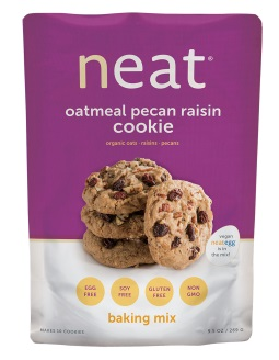 NEAT OATMEAL PECAN RAISIN COOKIE MIX,NEAT,78220