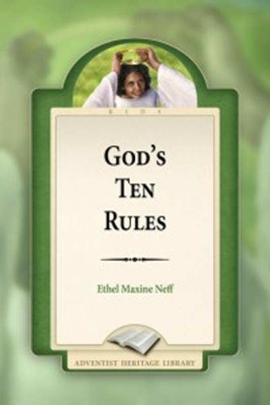 GOD'S TEN RULES [AHL],CHILDREN'S MINISTRY,9780816337866