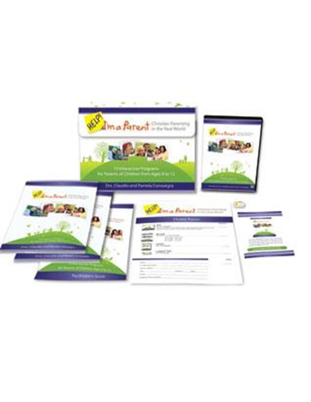 HELP IM A PARENT (AGES 8-12) BOOK & DVD SET,FAMILY LIFE,351819