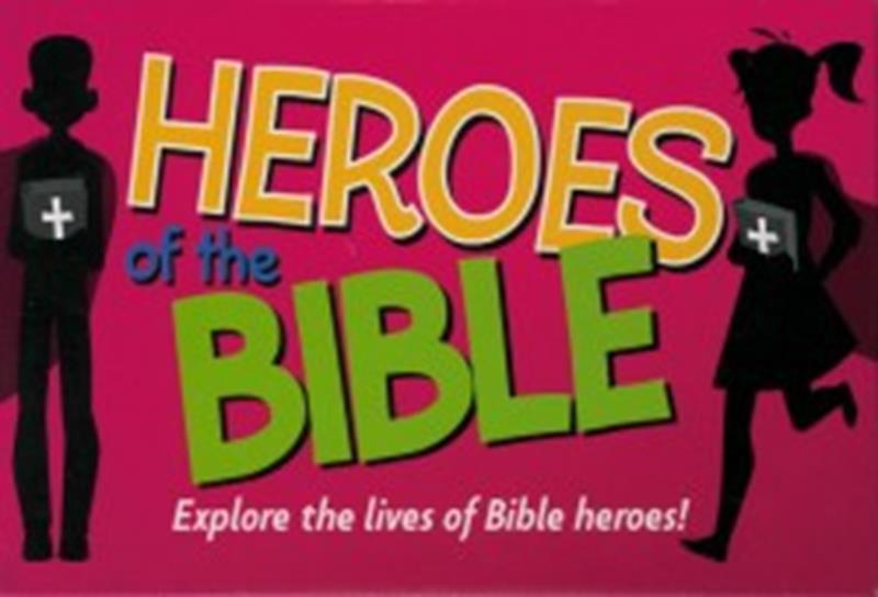 HEROES OF THE BIBLE GAME,CHILDREN'S MINISTRY,9781786659576