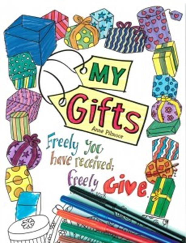 MY GIFTS - COLORING BOOK,NEW BOOK,9781786650733