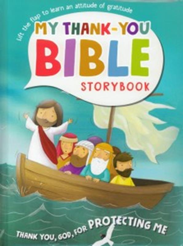 MY THANK YOU BIBLE STORYBOOK,NEW BOOK,9781786659699