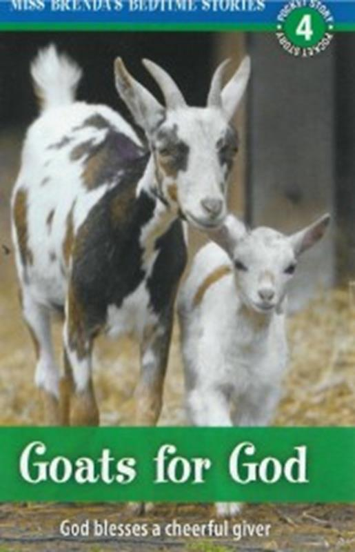 GOATS FOR GOD: MISS BRENDAS BEDTIME STORIES POCKET TRACT,NEW BOOK,643330048320