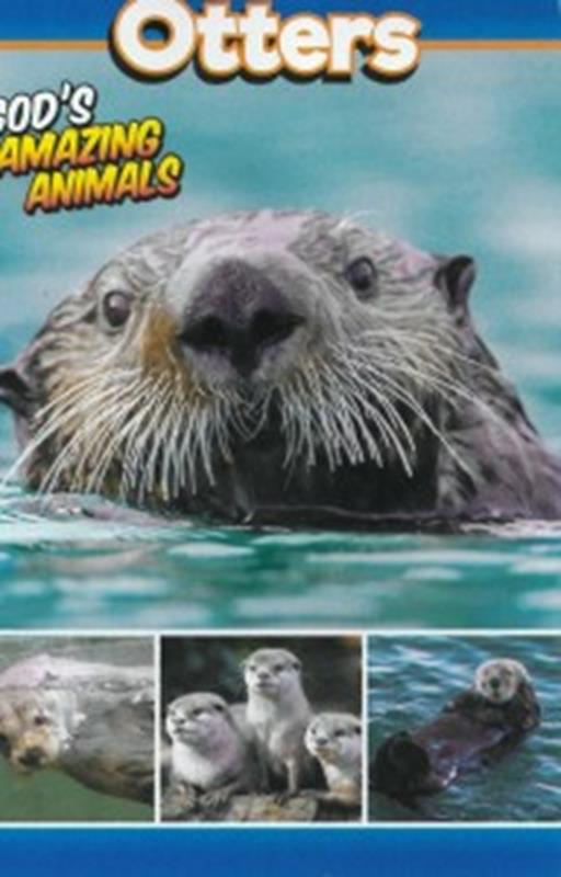 OTTERS - GODS AMAZING ANIMALS,NEW BOOK,643330048337