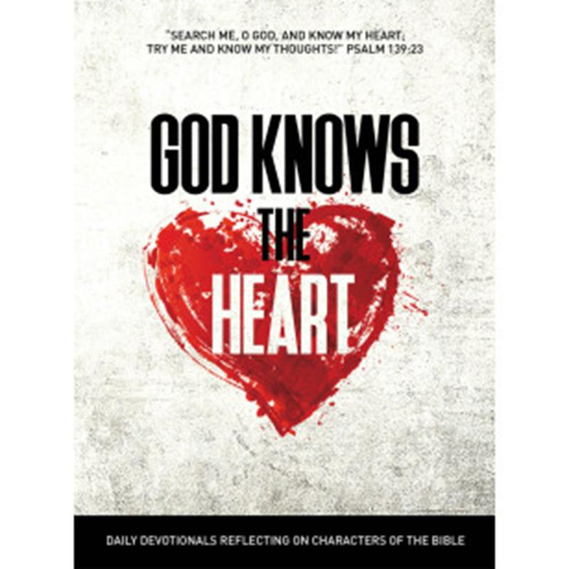 GOD KNOWS THE HEART,DEVOTIONALS,RP1262
