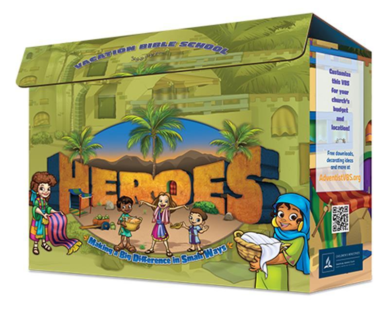 VBS HEROES KIT,VBS,039650