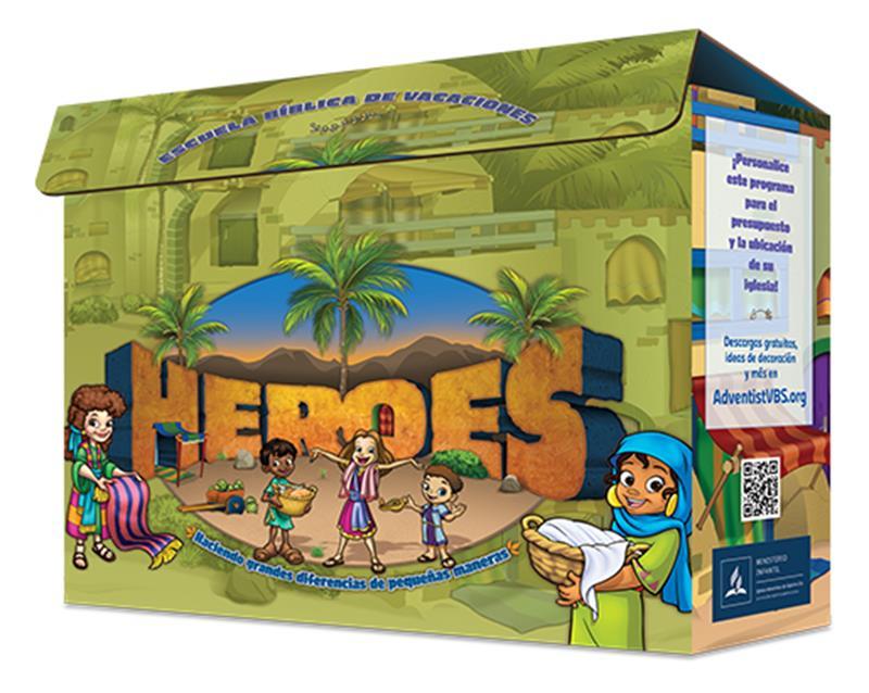 SPN VBS HEROES KIT,VBS,039651