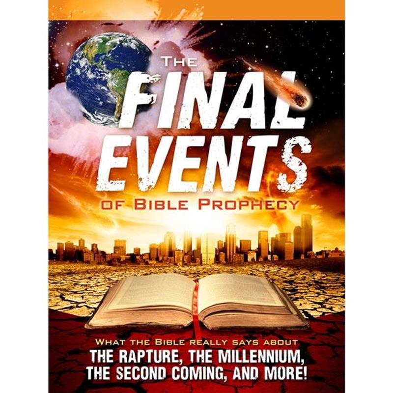 FINAL EVENTS OF BIBLE PROPHECY MAGAZINE,SHARING,BK-FE