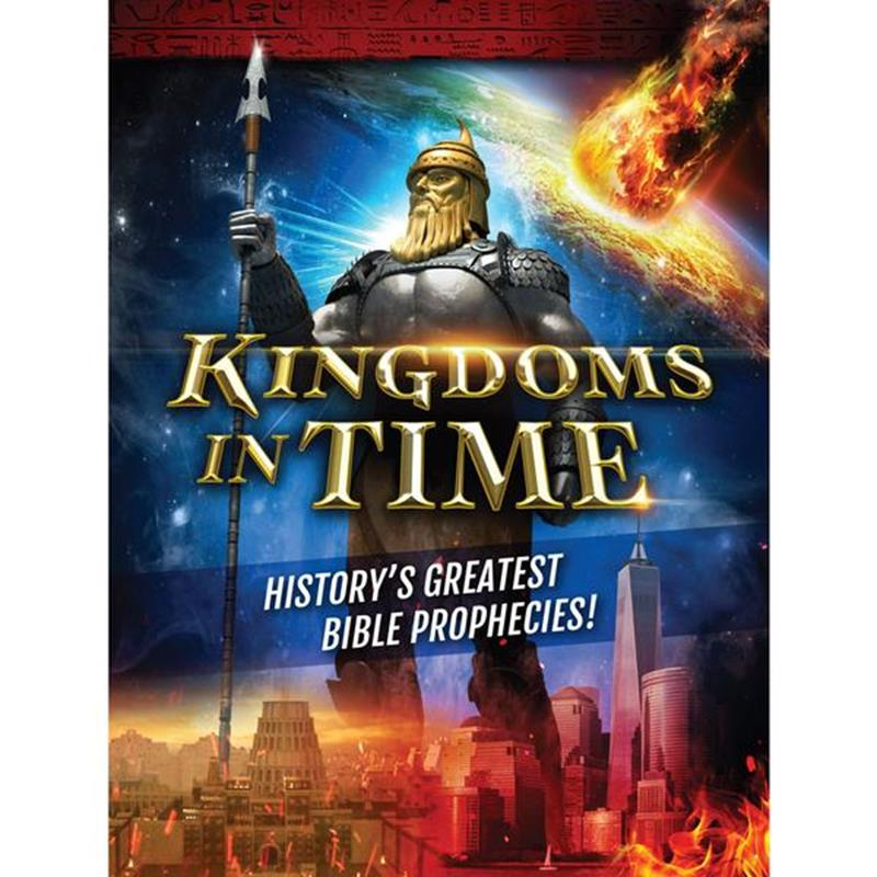 KINGDOMS IN TIME:HISTORYS GREATEST BIBLE PROPHECIES MAGAZINE,SHARING,BK-KIT