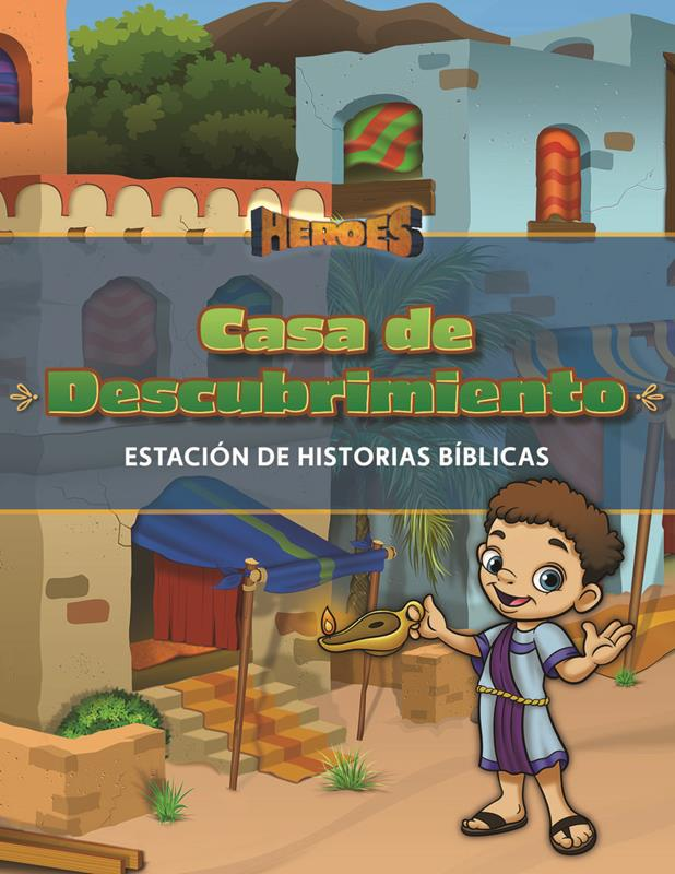 SPN VBS HEROES DISCOVERY HOUSE GUIDE STATION,VBS,039687