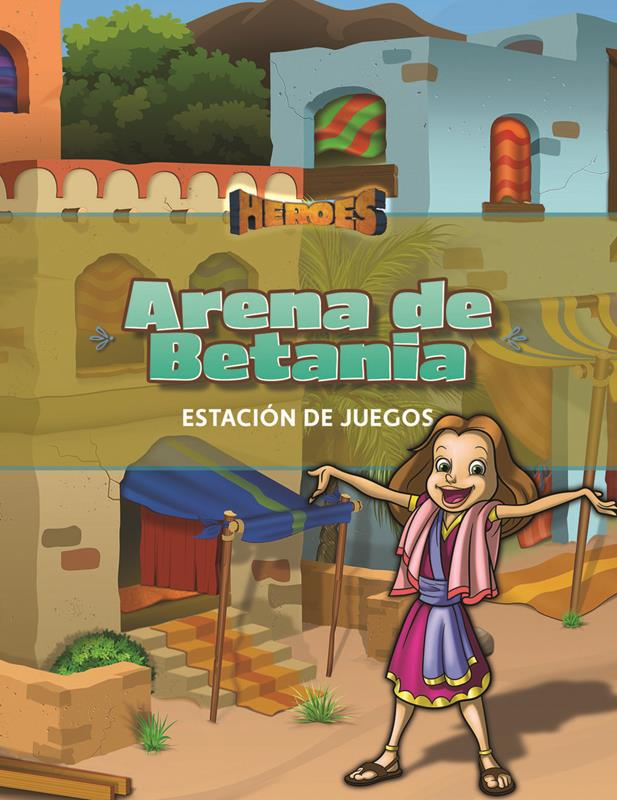 SPN VBS HEROES BETHANY ARENA GUIDE (GAME STATION),VBS,039689