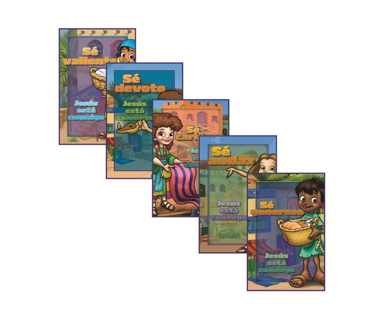 SPN VBS HEROES DAILY ACTION POSTERS (SET OF 5),VBS,039693