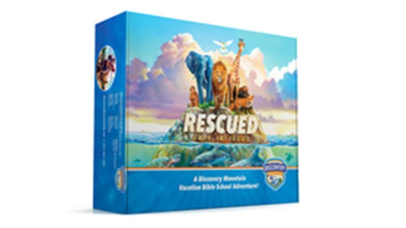 VBS RESCUED:  SAFE IN JESUS KIT,VBS,RSJVBSK801